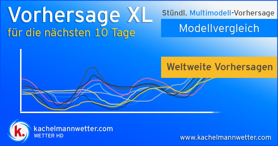 10 Tage Vorhersage Xl Wetter Von Kachelmann