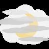 Abends: Nebel